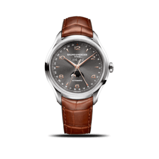 Baume & Mercier Herrenuhr Clifton Automatik Mondphase 43mm 10213