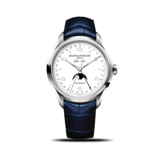 Baume & Mercier Herrenuhr Clifton Automatik Mondphase 43mm 10450