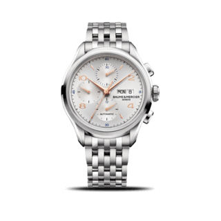 Baume & Mercier Herrenuhr Clifton Chronograph 43mm 10130