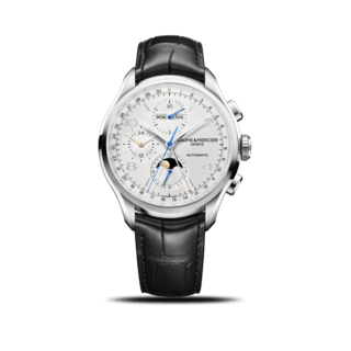 Baume & Mercier Herrenuhr Clifton Chronograph Kalender 43mm 10278