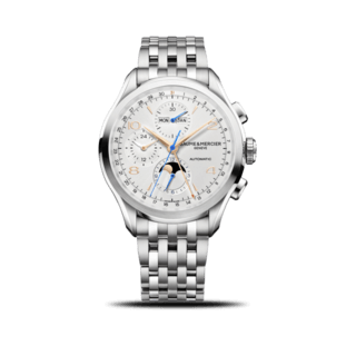 Baume & Mercier Herrenuhr Clifton Chronograph Kalender 43mm 10279
