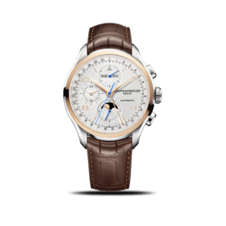 Baume & Mercier Herrenuhr Clifton Chronograph Kalender 43mm 10280