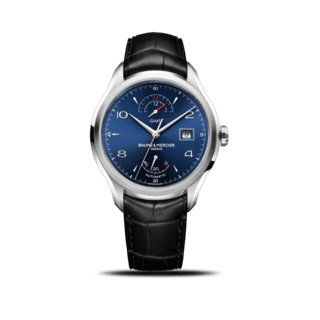 Baume & Mercier Herrenuhr Clifton GMT Gangreserve 43mm 10316