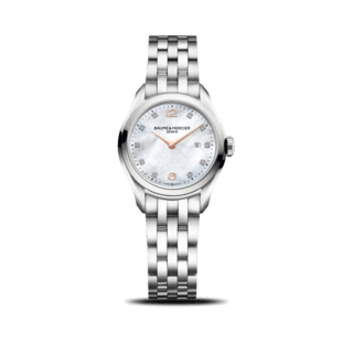 Baume & Mercier Damenuhr Clifton Quarz 30mm 10176