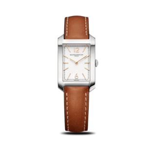 Baume & Mercier Damenuhr Hampton Quarz 34,1x22mm 10472