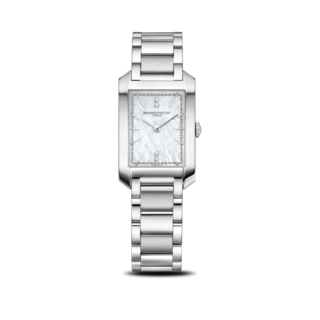 Baume & Mercier Damenuhr Hampton Quarz 34,1x22mm 10474