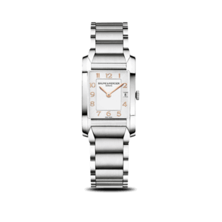 Baume & Mercier Damenuhr Hampton Quarz 34,5x22mm 10049