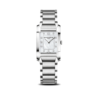 Baume & Mercier Damenuhr Hampton Quarz 34,5x22mm 10050
