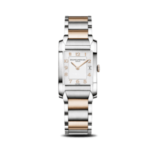 Baume & Mercier Damenuhr Hampton Quarz 34,5x22mm 10108