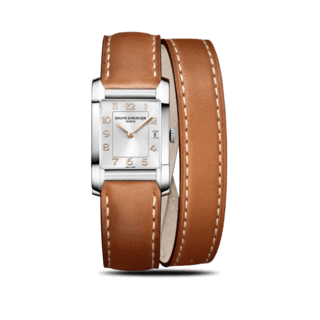 Baume & Mercier Damenuhr Hampton Quarz 34,5x22mm 10110