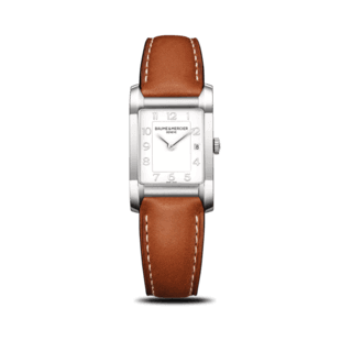 Baume & Mercier Damenuhr Hampton Quarz 34,5x22mm 10186