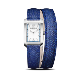 Baume & Mercier Damenuhr Hampton Quarz 35 x 22,2mm 10629