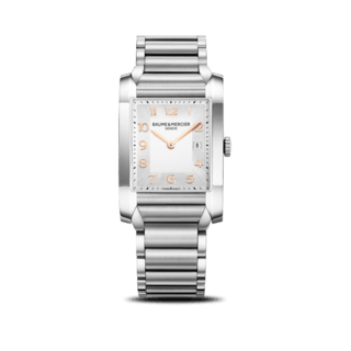 Baume & Mercier Damenuhr Hampton Quarz 40x27mm 10020
