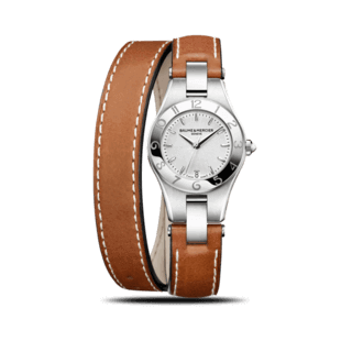 Baume & Mercier Damenuhr Linea Quarz 27mm 10036