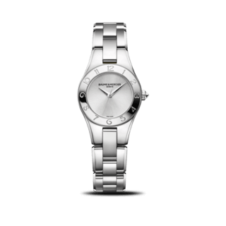 Baume & Mercier Damenuhr Linea Quarz 27mm 10138
