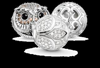 Beads Silber Edelstein
