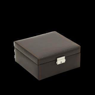 Friedrich Uhrenbox Bond 6 - Dunkelbraun 70021-475