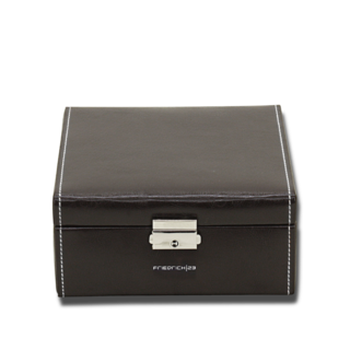 Friedrich Uhrenbox Bond 6 - Schwarz 70021-387