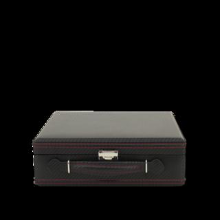 Friedrich Uhrenbox Carbon 12 - Schwarz 70021-310