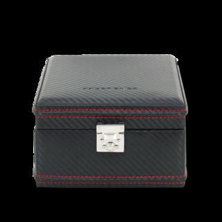 Friedrich Uhrenbox Carbon 4 - Schwarz 70021-253
