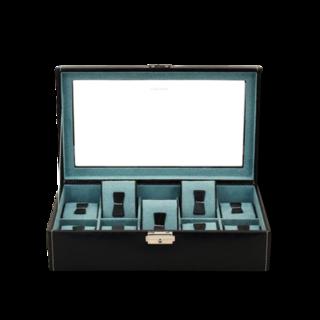 Friedrich Uhrenbox mit Sichtfenster Bond 10 - Schwarz 70021-380