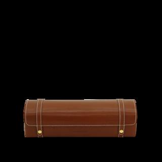 Friedrich Uhrenkoffer Cordoba S - Braun/Gold 70021-515