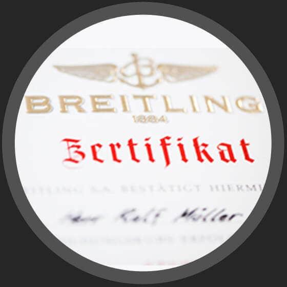 Breitling Zertifikat