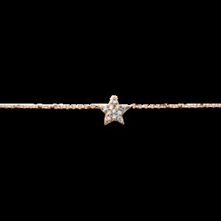 Brogle Selection Halskette mit Anhänger Basic Stern 4A251R8-2