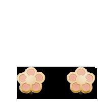 Brogle Atelier Ohrstecker Blume C316-118