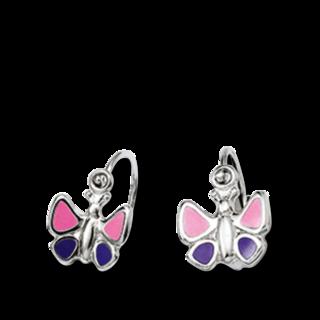 Brogle Atelier Ohrhänger Schmetterling C412-046