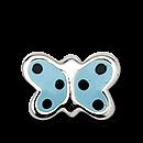 Brogle Atelier Ohrstecker Schmetterling C412-092