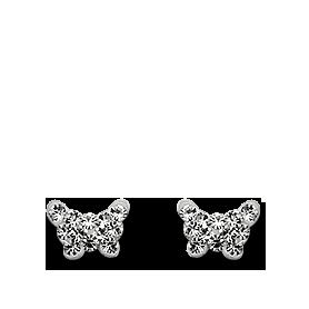 Brogle Atelier Ohrstecker Schmetterling C412-096
