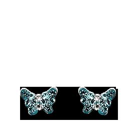 Brogle Atelier Ohrstecker Schmetterling C412-097