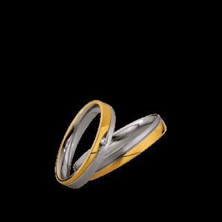 Brogle Atelier Trauring Light 49/87002_3.5_950PT-750GG