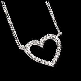 Brogle Atelier Halskette mit Anhänger First Love K10527