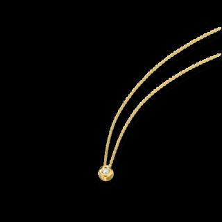 Brogle Atelier Halskette mit Anhänger First Love K10815/G