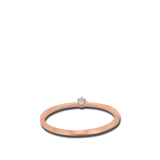 Brogle Atelier Solitairering First Love K10488/R