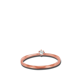 Brogle Atelier Solitairering First Love K10489/R