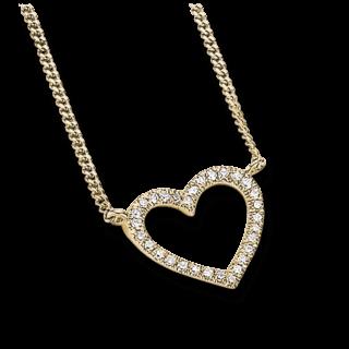 Brogle Atelier Halskette mit Anhänger First Love K10527/G