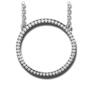 Brogle Atelier Halskette mit Anhänger Intense Brilliance 316-106