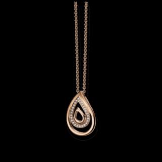 Brogle Atelier Halskette mit Anhänger Intense Brilliance 55530561P/3-585RG