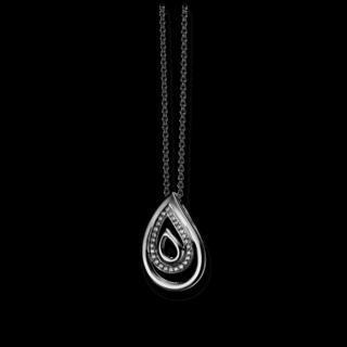 Brogle Atelier Halskette mit Anhänger Intense Brilliance 55530561P/3-585WG