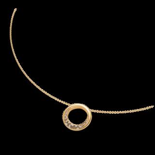 Brogle Atelier Halskette mit Anhänger Intense Brilliance 55570611P/3-585GG