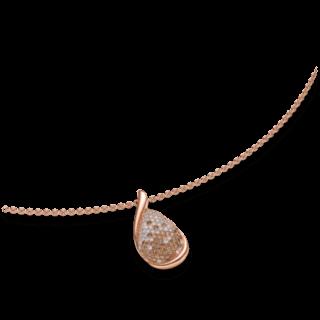 Brogle Atelier Halskette mit Anhänger Intense Brilliance 55571231P/3-585RG