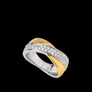 Brogle Atelier Ring Intense Brilliance 55092051R/3-585GW