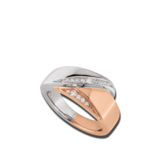 Brogle Atelier Ring Intense Brilliance 55110471R/3-585RW