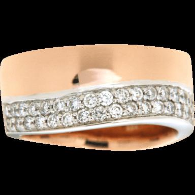 Brogle Atelier Ring Intense Brilliance 55111771R/3-585RW