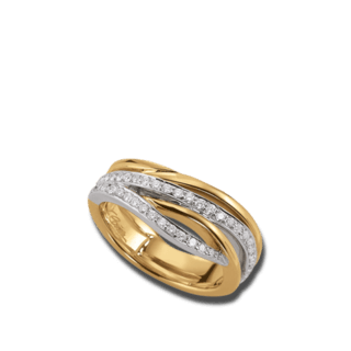 Brogle Atelier Ring Intense Brilliance 55116151R/3-585GW