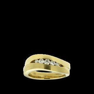 Brogle Atelier Spannring Intense Brilliance 55533511R/3-585GG