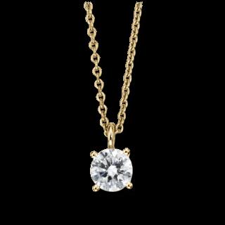Brogle Atelier Halskette mit Anhänger Pure Elegance LW30-0871070-KGSI